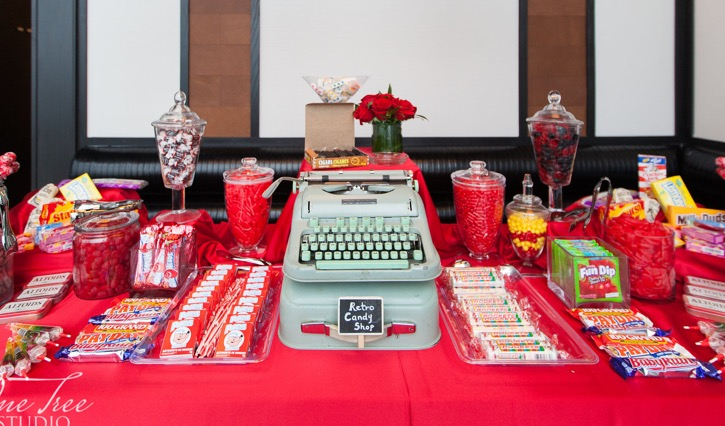 Custom Candy Tables